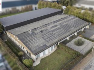 Cette propriété se compose de deux hangars, d'une maison spacieuse et d'un terrain de +/- 1.000m². Le premier entrepôt d'une