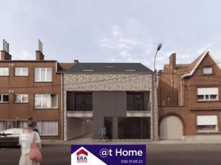 Un appartement à construire avec deux chambres dans le centre de MeninPeuvent être classées selon le choix du client* Fini avec de
