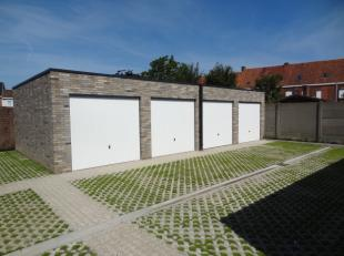 Nieuwbouw garages te koop van +/- 15 m².