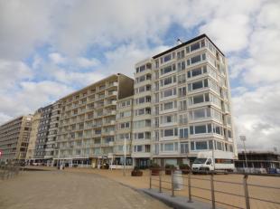 Appartement met zeezicht zicht op de zee en verzicht op het binnenland! bestaande uit, inkom met wc, badkamer, zithoek, woonkamer en slaapkamer recent