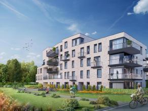 Dit parkappartement in het nieuwbouwproject 'Tribeca' ligt op gelijkvloers en heeft een bewoonbare oppervlakte van 132,7 m² met een tuin van 60 m