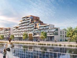 Dit appartement in het nieuwbouwproject 'Tribeca' ligt op gelijkvloers en heeft een bewoonbare oppervlakte van 110,8 m² met een tuin van 54 m&sup