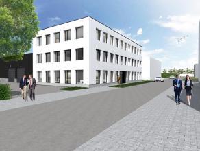 Dit gebouw omvat 3 bouwlagen, gelijkvloers 723 m², 1e verdieping 723 m², 2e verdieping 621 m² en een terras van 102 m² mogelijkhei