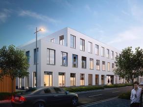Het gebouw E2 omvat 3 bouwlagen, gelijkvloers 723 m², 1e verdieping 723 m², 2e verdieping 621 m² en een terras van 102 m². Wij bie