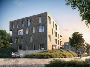 Dit appartement heeft een bewoonbare oppervlakte van 98 m² en een terras van 10 m².<br /> Via de inkomhal komen we binnen in de lichtrijke l