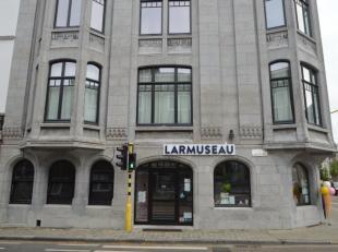 Prachtig kantoor/winkel in authentiek gebouw op 300 m van Sint-Pieters station. De eigendom bestaat uit 2 grote ruimtes en 1 kleine ruimte, sanitair e
