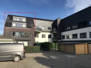 Duplexappartement 105 m² bewoonbare opp - Op 500 m van het centrum van Berlare, rustig gelegen, vindt u dit 3 slaapkamer appartement in de Reside