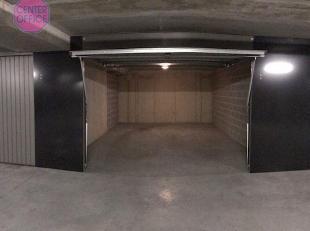 Ondergrondse garage box aan Langemunt, vrijdagsmarkt en Onderstraat.