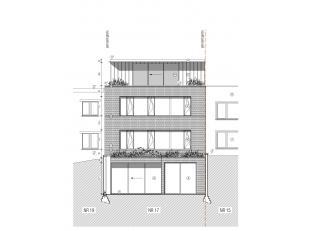 Te koop te GENT :  Krommenelleboog, luxe triplex-appartement met een totale oppervlakte van 188 m2.<br /> en met een dakterras van 12 m2. Verkoop op p