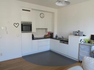 Te huur te GENT : bij Sint-Pietersstation,  gezellig éénslaapkamer appartement (58 m2).<br /> Omvattende : inkom, toilet, leefruimte, in