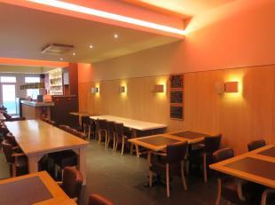 Te huur in GENT : heel centraal gelegen brasserie-restaurant met terras achteraan.<br /> Inboedel inbegrepen, meer info op kantoor : 09/233 28 28.<br