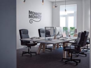 Deze kantoorruimte van 75m² heeft een prachtig uitzicht over het Maria Hendrikaplein en heeft een uiterst gunstige ligging aan het centraal stati