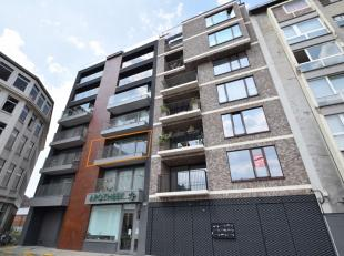Dit appartement bevindt zich op het Stapelplein (regio Dampoort/Dok-Noord). Via de inkomhal met gastentoilet, bereikt men de ruime woonkamer. Die geef