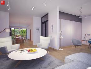 Gent, Lievekaai 21: Nog 1 appartement, met 1 à 2 slaapkamers. Oppervlakte 133 m² met 37 m² tuinterras. 1740 is kwaliteit van een hoog