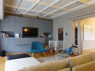 GENT - Rozemarijnstraat: Heel mooi authentiek duplex appartement in nabij Coupure Links. Het appartement bevindt zich in een authentieke burgerwoning