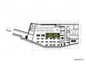 Zeer groot kantorencomplex van 850m² op het gelijkvloers met 11 parkeerplaatsen (optioneel) en 2 archiefruimten van 10m² in de kelder.<br />