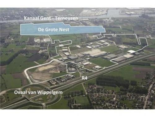 Terrain industriel à vendre à Evergem