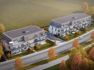 """Nieuwbouw appartement te koop in residentie """"WaterMolen Oost"""". Dit energievriendelijk appartement op de eerste verdieping bestaat uit een inkomhal met"""