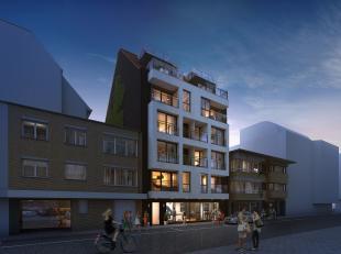 Dit nieuwbouwappartement op de tweede verdieping bestaat uit een inkomhal waarlangs je naar het toilet, de berging, beide slaapkamers, de badkamer voo