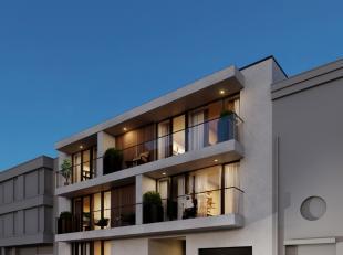 Dit leuke nieuwbouw appartement bestaat uit een inkomhal waarlangs je naar de leefruimte, de badkamer voorzien van inloopdouche, de beide slaapkamers