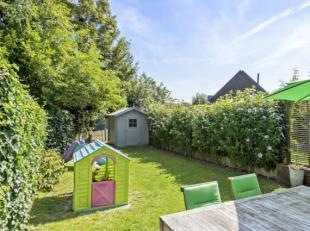 Hartveroverend recent nieuwbouwappartement (bouwjaar 2007) met prachtige tuin (85m²), terras, tuinhuis en heerlijk overweldigend groen uitzicht (