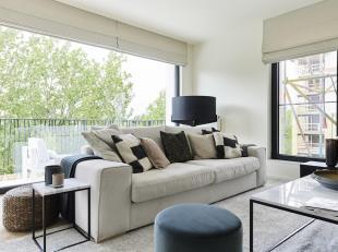 ANDERLECHT, à 10min du centre ville, de la Gare Centrale et à 15 min de Schuman, appartement neuf 2 chambres dans un magnifique projet i