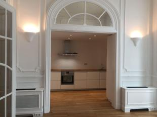 Bathim & CO offers a beautiful renovated apartment of 180m ² in a mansion. It consists of: A large entrance hall giving access to all other r