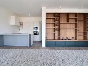The Cosmopolitan: Beautiful 97m² apartment with terrace located on the 13th floor of a new building high standing overlooking Brussels. Close to