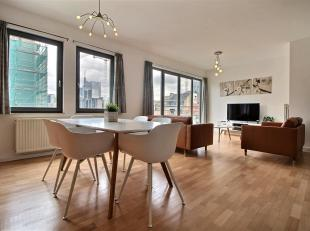 Beautiful fully furnished apartment near Sainte-Catherine. It consists of: An entrance hall, a large bright living room, fully equipped kitchen fully