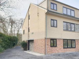 Instapklaar modern gerenoveerd appartement (2018) ca 80m2 met 2 slaapkamers en een terras met groen open zicht .hal , apart toilet, living overladen m