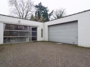 Deze eigendom omvat een atelier van ruim 600 m² met aangrenzend kantoor en een prachtige villa met zwembad.<br /> Het professioneel gedeelte kan