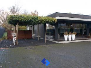Deze eigendom omvat een magazijn van 190 m² met aangrenzende toonzaal van 185 m² en een prachtige loft met zwembad.<br /> Het professioneel