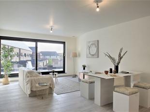 Nieuw en kwalitatief 2-slaapkamer appartement met groot zuid-terras (19m²), INCLUSIEF ondergrondse autostaanplaats en private berging.<br /> Cent