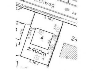 Goed gelegen bouwgrond in een rustige omgeving vlakbij de moervaart! Voor een open bebouwing op een zuid-gericht perceel van 400 m². Bouwrijp per