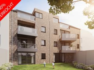 """In deze residentie """"Pollet"""" zijn er 11 appartementen voorzien met onder het gebouw een toegang tot parking, berging en fietsenstalling. Deze doorgang"""