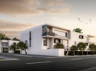 Instapklaar appartement te centrum Malderen op 100 meter van Kerk en winkels. Er is gekozen voor een moderne bouwstijl met veel lichtinval en grote ra