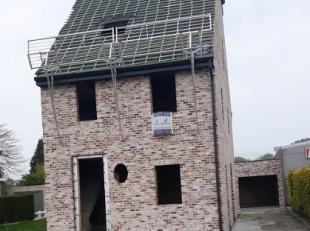 Verder af te werken, nieuwbouwwoning (winddicht) in rustige en landelijke omgeving op een perceel grond van 8are60ca te Zandbergen.Gelegen nabij belan