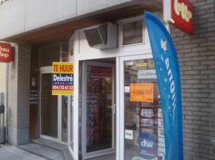Handelspand te huur, gelegen in het centrum van Blankenberge- Kerkstraat 84. <br /> Deze winkel heeft een oppervlakte van 75 m². De maandelijkse