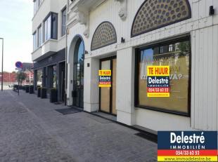 Kantoor/handelsgelijkvloers te huur gelegen in de hippe buurt van 'Het Eilandje', vlakbij het MAS, 'De Burgerij', 'Crèmerie Germaine', 'Bakkeri