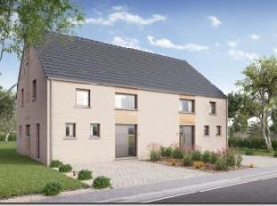 Erquelinnes, Montignies-Saint-Christophe, nouvelle construction, belle maison 3 façades basse énergie sur un beau terrain de 864 m²