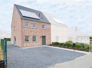 Op een uitermate gunstige ligging in Maarkedal (Schorisse) ontpopte zich dit aangenaam woonproject. De ruimte in deze nieuwbouwwoning werd optimaal be