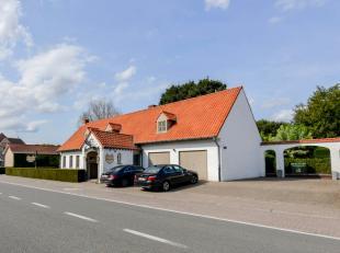 In het pittoreske, landelijke Zwalm bevindt zich dit succesvol restaurant met woonhuis en riant Engels aangelegde tuin wat een grote meerwaarde biedt