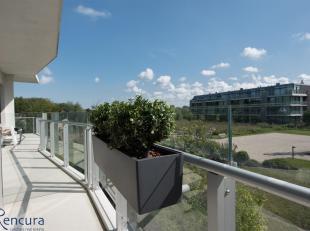 """Gelegen in De Haan """"Vosseslag"""" vlak bij de Golf en op wandelafstand van zee met uitzicht op de tuinen.<br /> Ditappartement geniet van een mooi terras"""