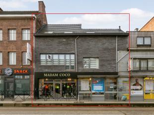 Graag wonen en werken combineren? Dit gebouw is voorzien van een mooie handelsruimte op het gelijkvloers (158m²) met een zeer ruim en recent gere