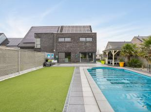 Prachtige instapklare woning met zwembad van 283 m² op een perceel van 615m² !<br /> Deze woning is afgewerkt met duurzame materialen. <br /