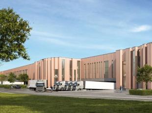"""Het betreft een strategisch gelegen logistieke site aan het bekende """"Klaverblad"""" (kruising E40-E17). Er is een rechtstreekse toegang tot stad Gent en"""