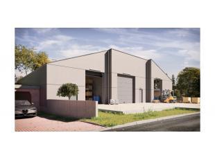 Het betreft een nieuw te bouwen magazijn in een kleinschalig bedrijfsverzamelgebouw. Gelegen in een zone voor milieubelastende industrieën vlakbi