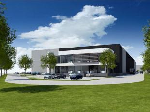 Nieuwbouwproject gelegen aan de Gentse haven te Desteldonk, nabij de R4 Kennedylaan. Op een perceel van circa 14200m² kan er maat van de klant wo