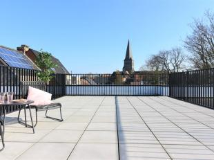 Schitterende zonovergoten penthouse met 3 slaapkamers te koop in residentie 'Dobbelaerepark', gelegen op wandelafstand van het centrum van Zomergem.<b