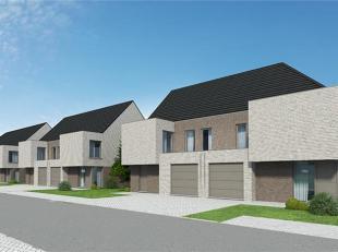 Ruime gesloten bebouwing op 273 m². GLV: inkom, toilet, living, keuken, berging in de inpandige garage. 1eV: 4 slk, badkamer met bad en douche. D